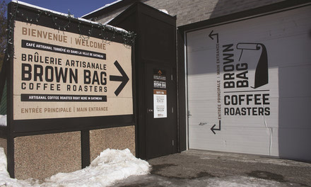 {Brown Bag Coffee Roasters regionally recognized}