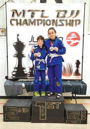 {Aylmer's Ebo Martial Arts Academy brings home two trophies}