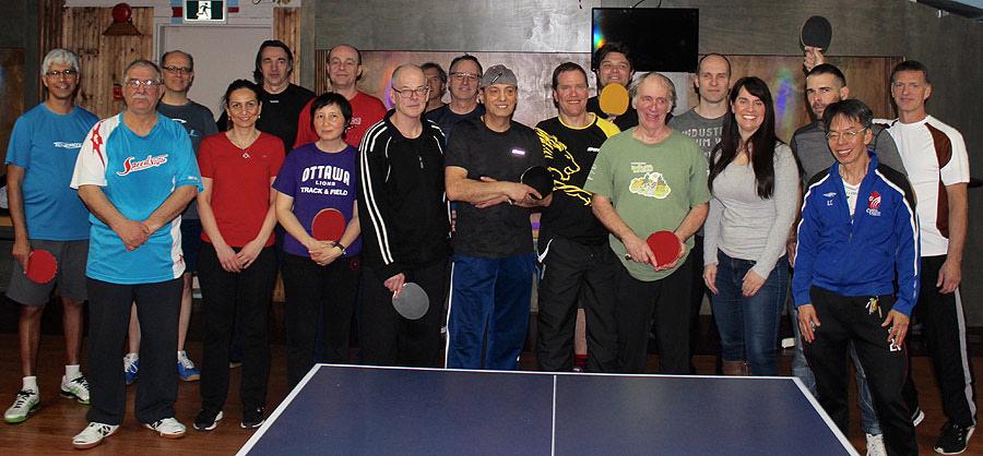 Tournoi De Ping Pong Pour Le Centre Alimentaire